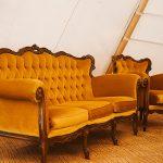 Vintage Lounge Setting