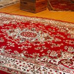 Set of 5 assorted rugs