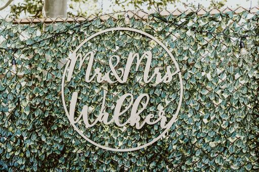 Greenery Trellis Wall