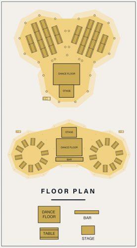 Triple Tipi Floor Plan