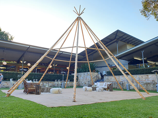 Naked Giant Tipi